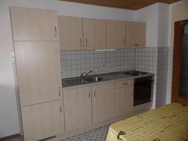 Ferienwohnung unten, Küche