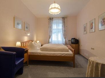 Doppelzimmer im Appartment Gästehaus des Hotels Krone in Gößweinstein